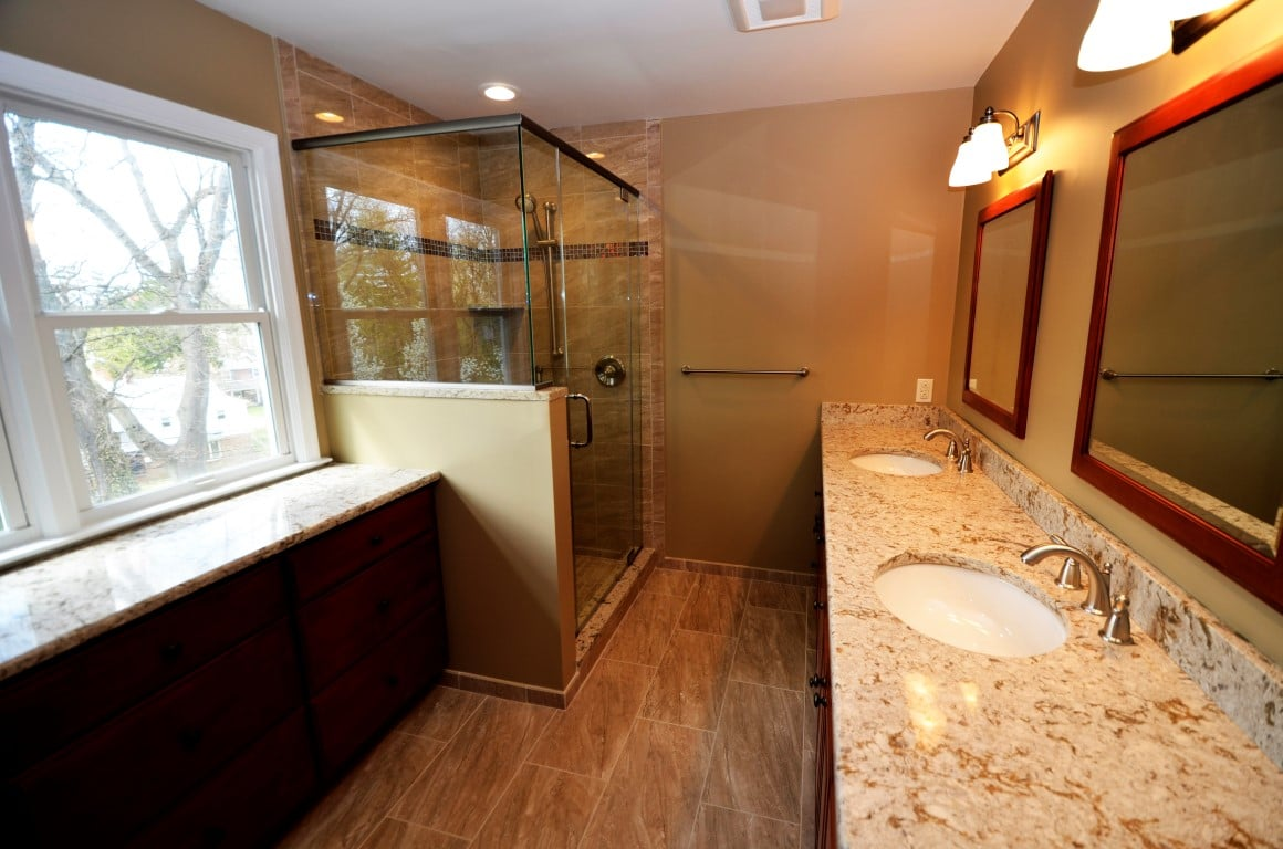 Bathroom Project By Volpe Enterprises Inc