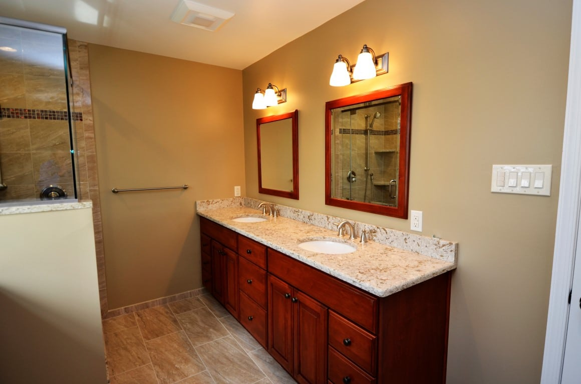 Bathroom project by volpe enterprises inc for Updated bathrooms 2016