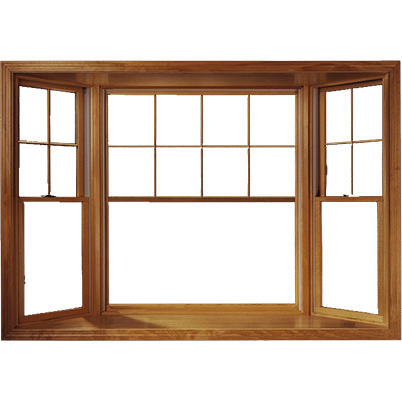 Andersen Bay and Bow Wood Windows